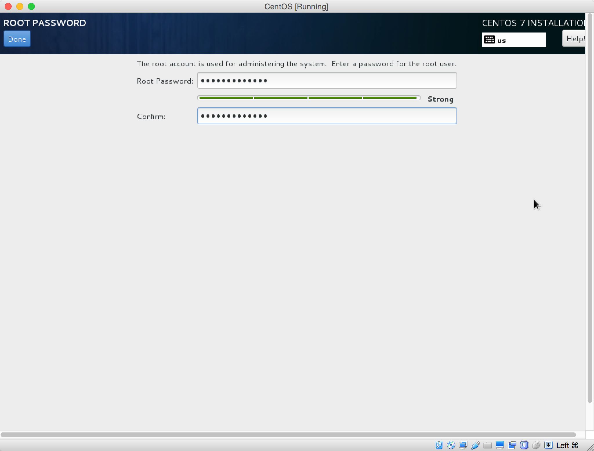 Install a CentOS 7 Minimal Virtual Machine with VirtualBox